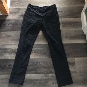 Black express work pants